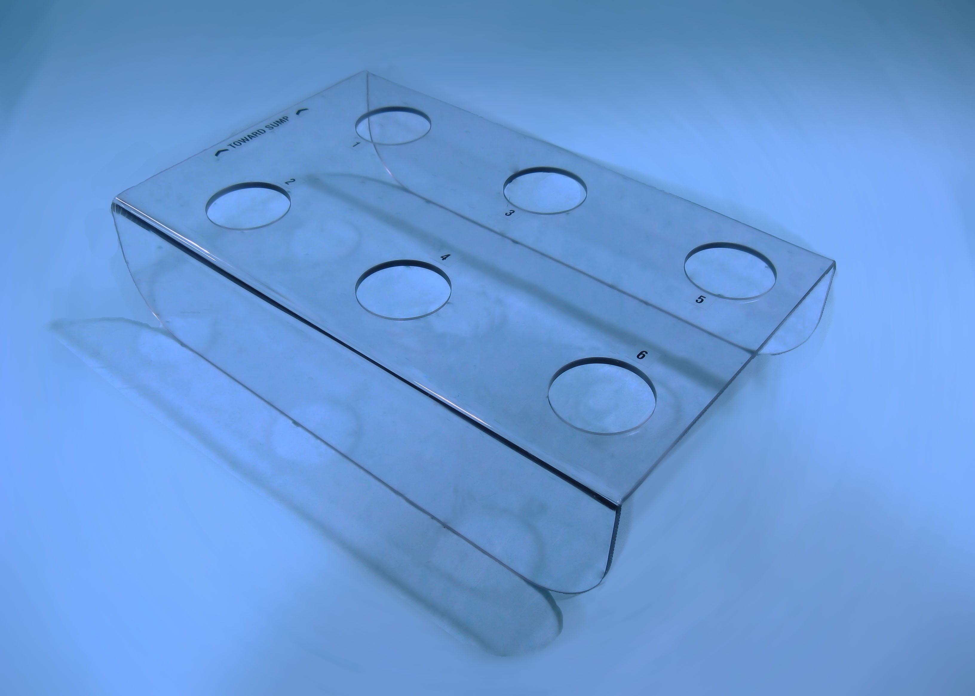polycarbonate insert