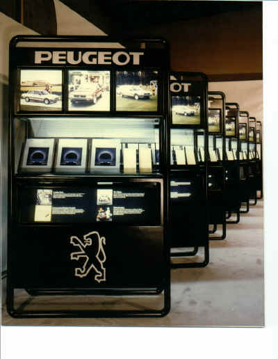 Peugeot Point of Purchase Display