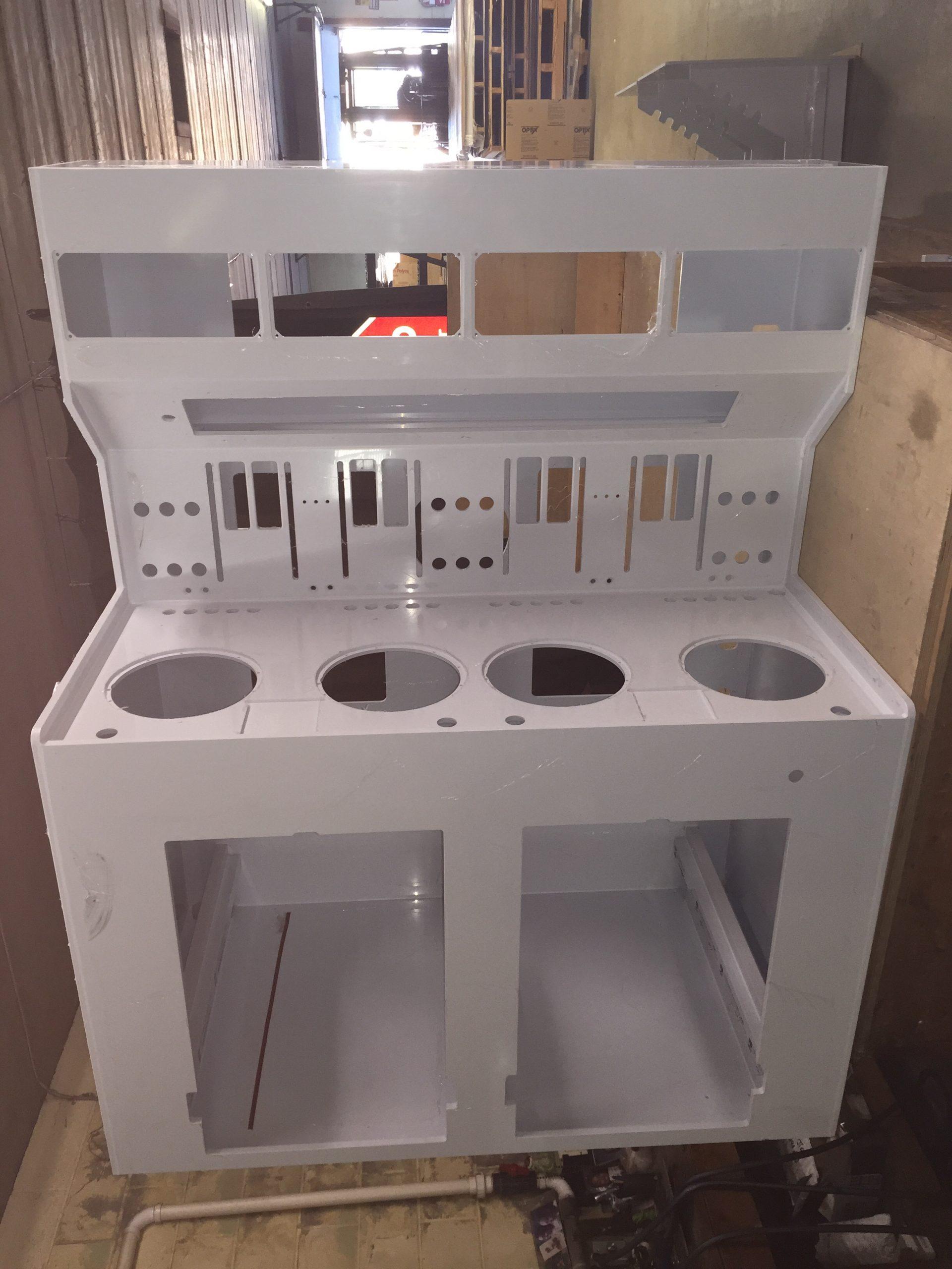 Polypropylene Spin-coating Station Cabinet