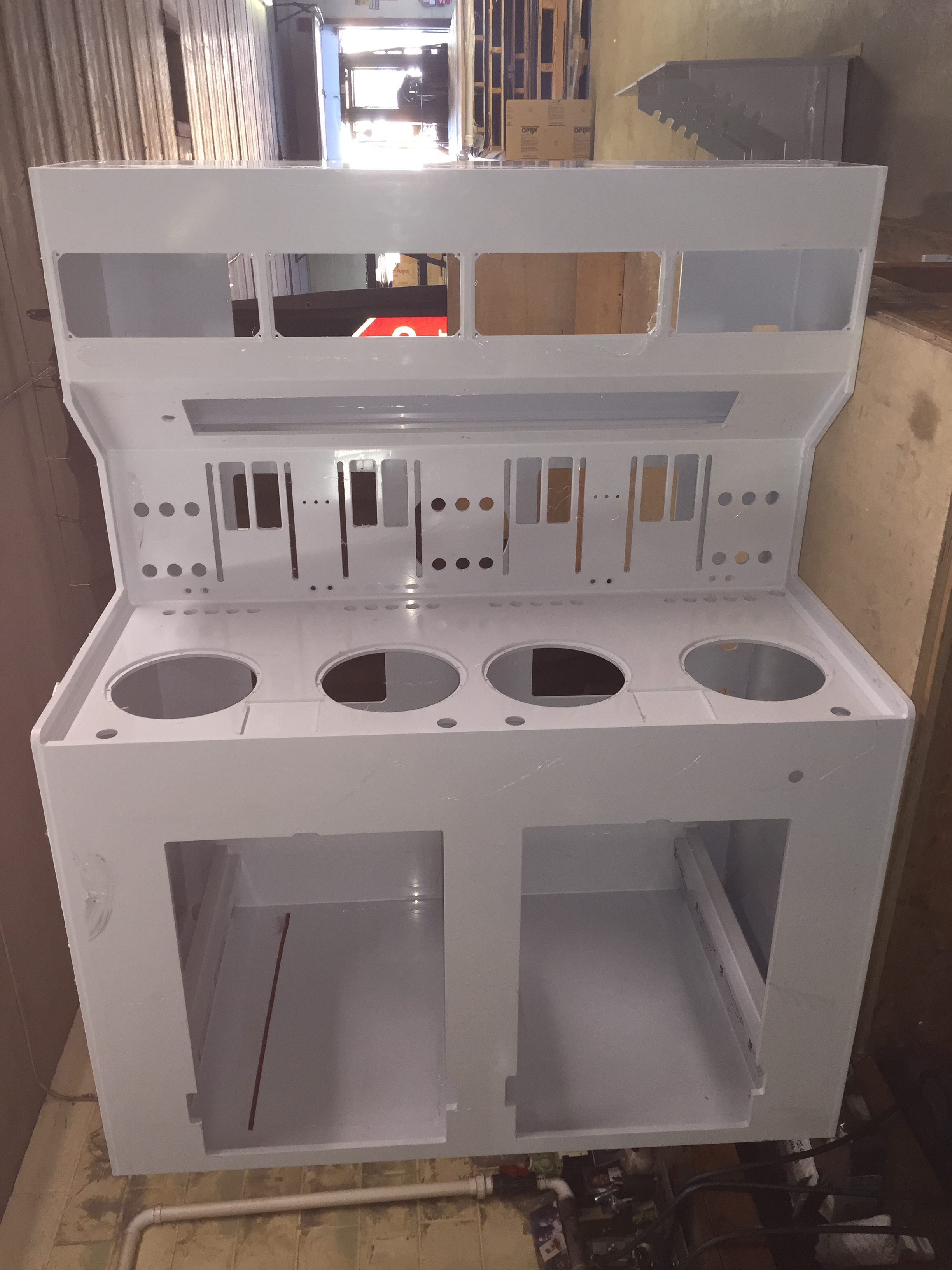 Polypropylene Spin-coating Station Cabinet
