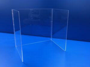 Clear Acrylic U-Shaped Tabletop Divider