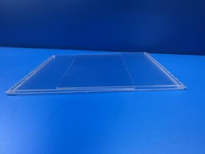 Clear Acrylic U-Shaped Divider Flat-Pack