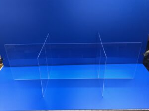 Clear Acrylic Six-SLot Tabletop Divider
